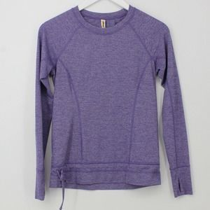 Lucy Active Long Sleeve Crew Neck Athletic Top